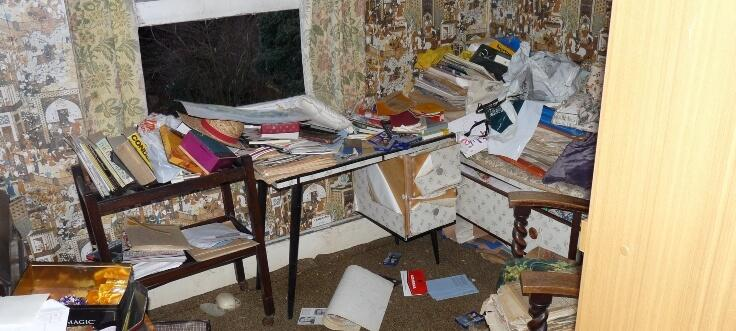 Clutter In House in Chiswick