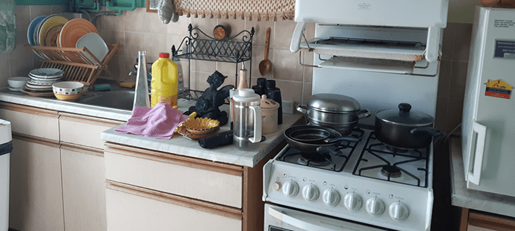 Kitchen Clearance at House In Chelsea